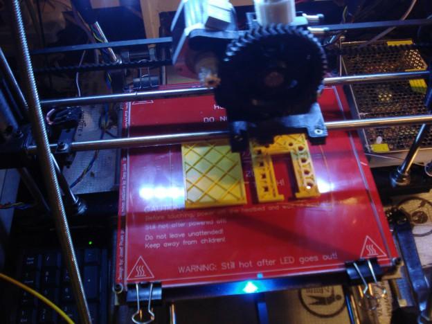 Imprimiendo prototipos de qudino