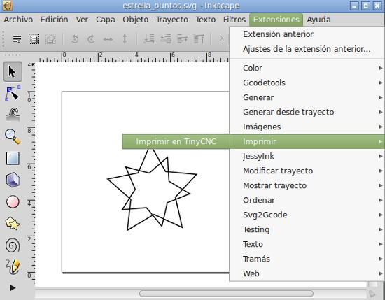 tinycnc con inkscape