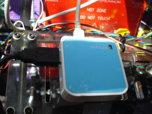 Control wifi de impresora 3D