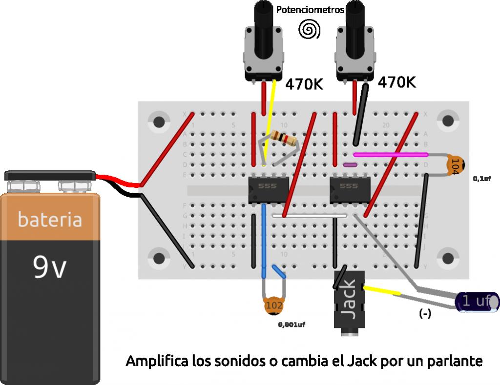 Circuito de ataripunk