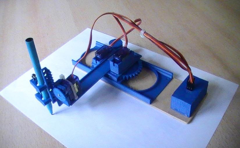 TinyCNC – una pequeña impresora